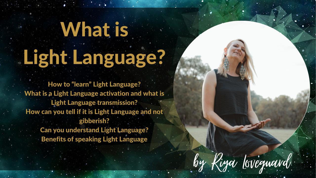 what is light language